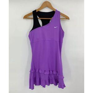 Nike Dri Fit Athletic Tennis Dress Purple Size M